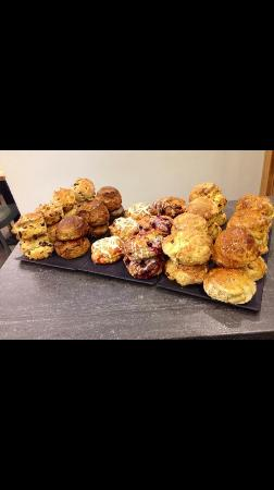 Campbells Coffee House and Eatery: Classic and gourmet scones
