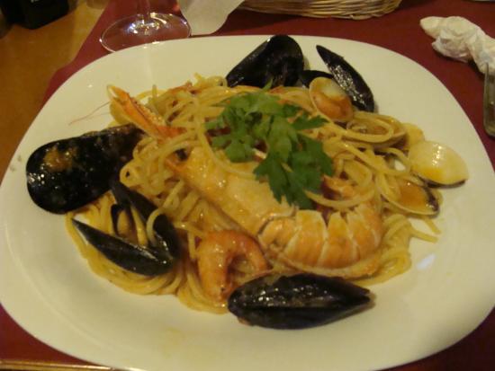 Perbacco Bar: Spaghetti allo scoglio