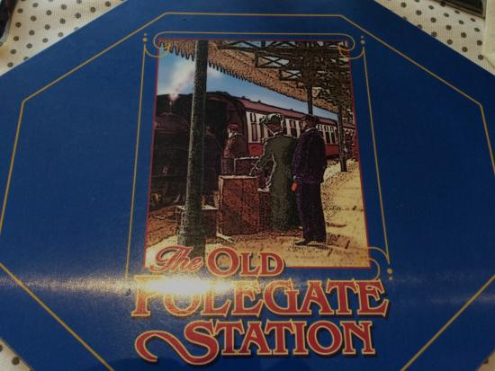 The Old Polegate Station: Nice Tables Mats