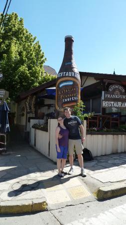 El patio cervecero fotograf 237 a de estaci 243 n frankfurt