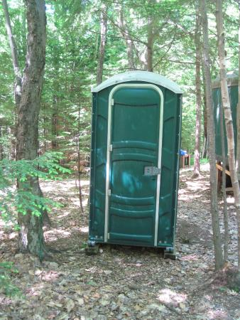‪‪Brownfield‬, ‪Maine‬: Porta potty...very clean‬