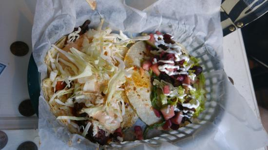 White Duck Taco Shop: Duck and fish tacos