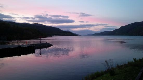 The Boathouse Lochside Restaurant: The fabulous view of Loch Ness