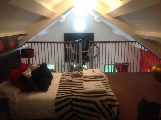 Mezzanine Bedroom Picture Of The Malthouse Ironbridge Tripadvisor