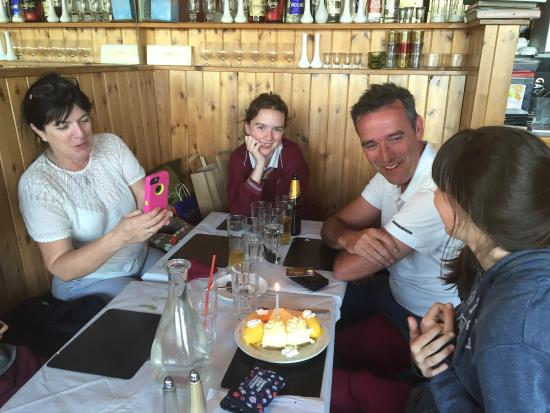 Cafe Goa: Irish celebrity chef Kavin Dundon is celebrating his daughter's birthday with his family is in C