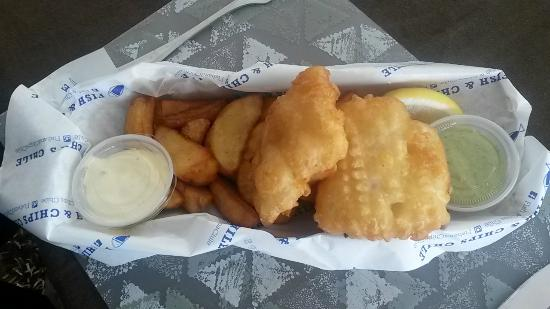 Master fish chips re aca renaca omd men om for Eds fish and chips