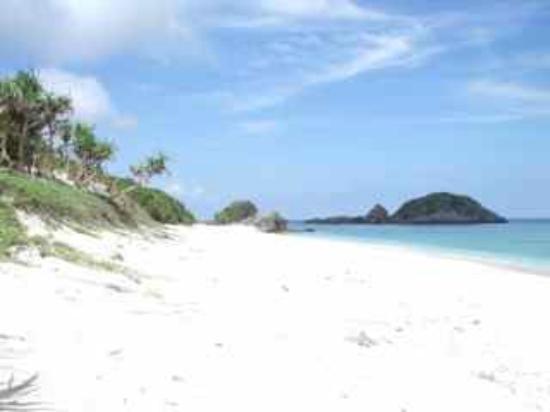Kushibaru Beach: 無人のビーチ