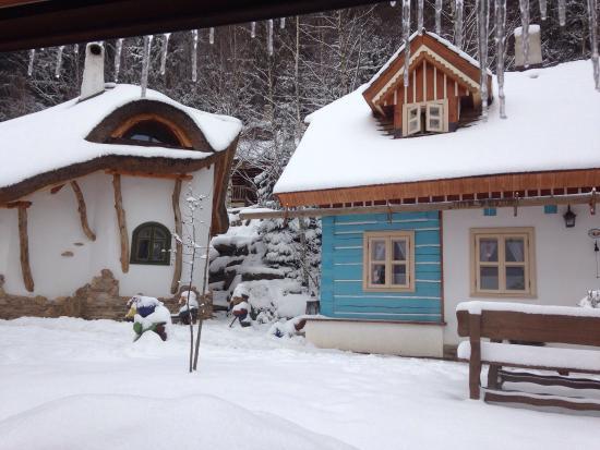 Pohadkova vesnicka Podlesicko