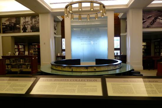 Nashville Public Library : Civil Rights Exhibit