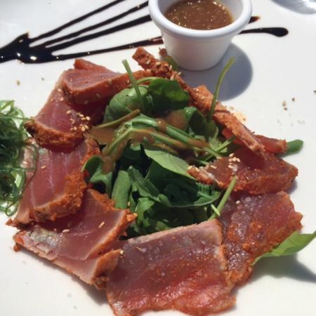 La Plage Keller : seared tuna