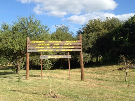 Baradero, الأرجنتين: Ingreso a la reserva