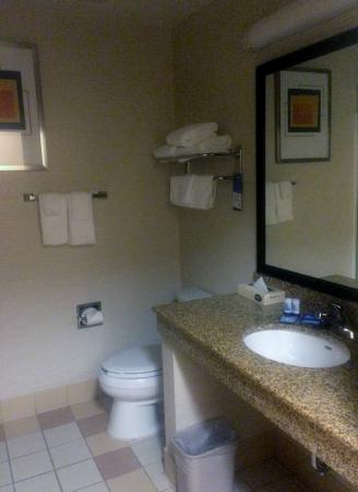 Fairfield Inn & Suites State College: Very clean, great shower!