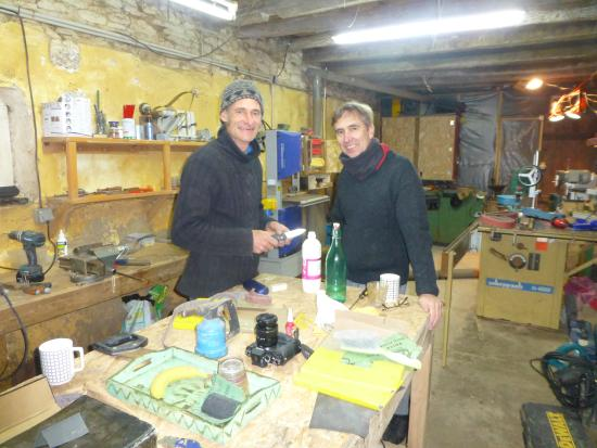 Under The Lime Tree: In the Workshop with Sean
