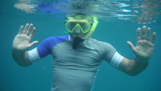 Simpson Bay, St-Martin/St Maarten: Snorkel Fun!
