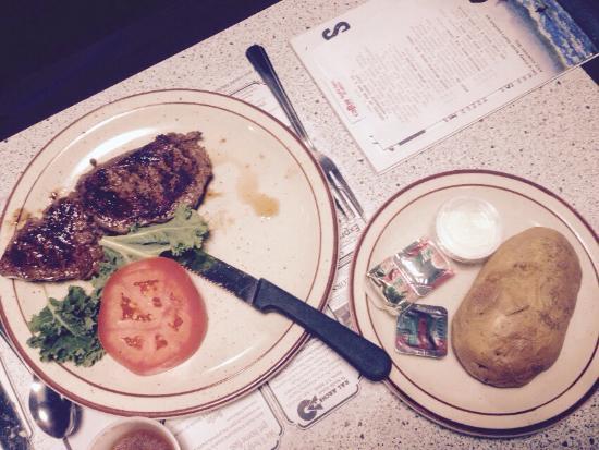 Wayside Restaurant & Bakery: Sirloin arenal