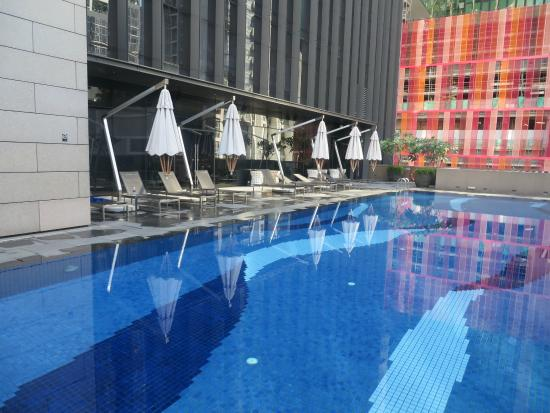 Pool Picture Of Carlton City Hotel Singapore Singapore Tripadvisor
