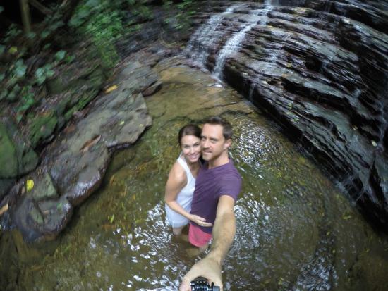 Waterfall Villas: One of the waterfalls