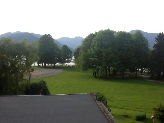Hotel Wittelsbach am See : view from our roo