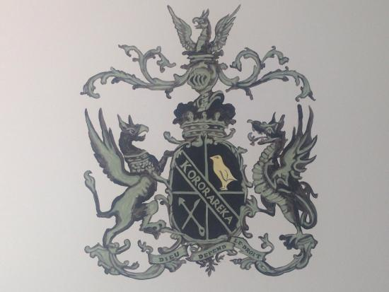 Duke of Marlborough Hotel: Wall in room