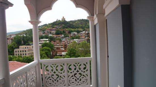 Hotel Old Metekhi : city view