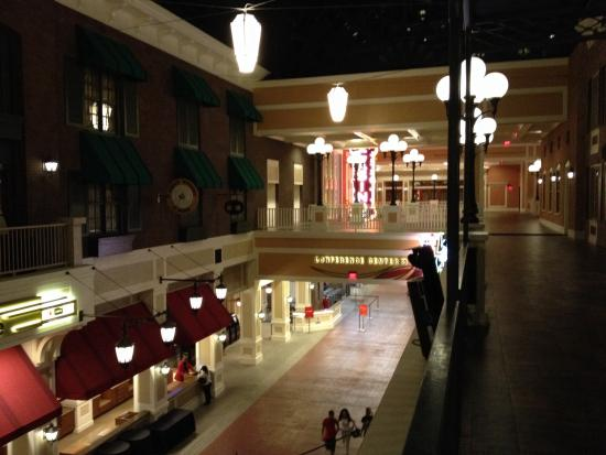 Ameristar Casino St. Charles: View from second floor