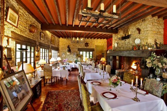Vieux-Mareuil, Frankrig: La salle de restauranr