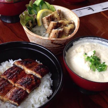 Unagi no Irifune: うなぎ丼と白焼き酢ぬた