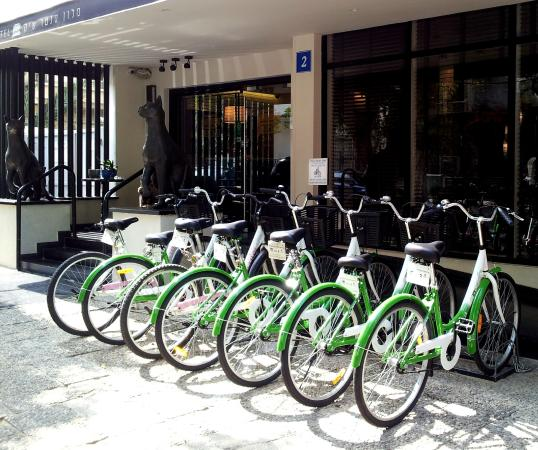 Center Chic Hotel Tel Aviv - an Atlas Boutique Hotel: Free Guest Bicycles