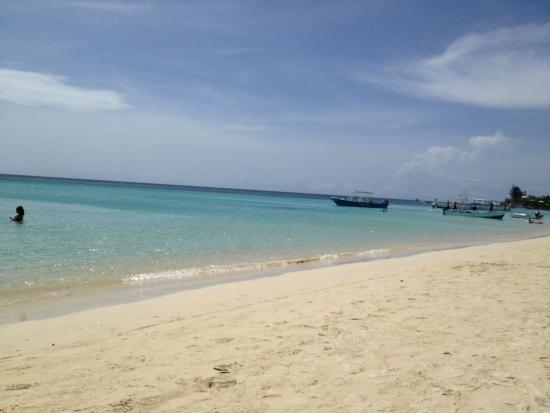 """Bananarama Beach and Dive Resort: """"Beautiful"""" Beach, Roatan, Honduras"""