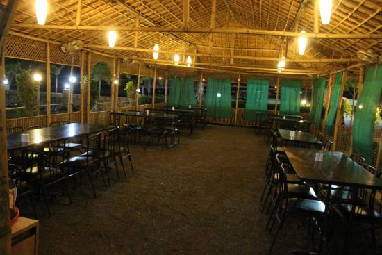tadka express the food junction spacious open air natural seating arrangements