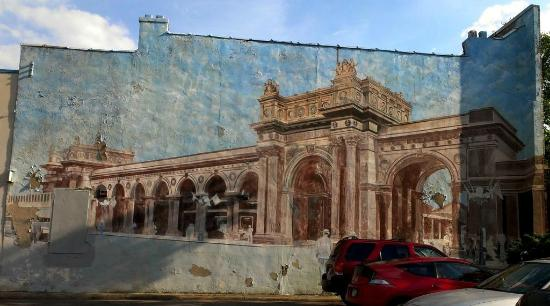 An example of the murals in the Short North Arts District