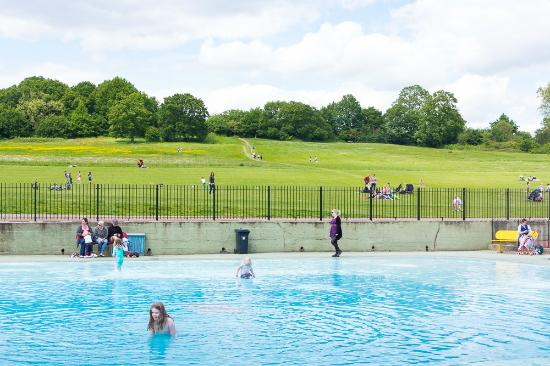 Hampstead Heath Paddling Pool Picture Of Hampstead Heath London Tripadvisor