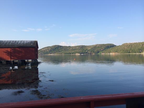 Mageroya, النرويج: Utsikten fra brygga