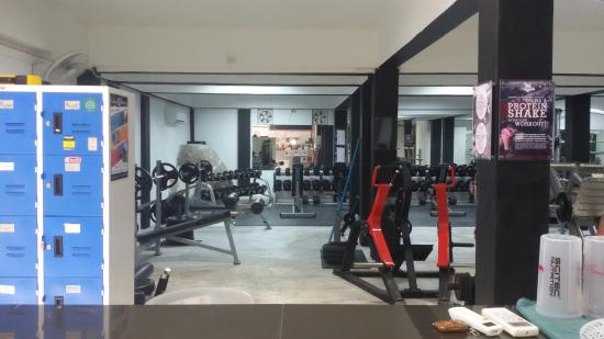 1st floor gym and fitness Koh Tao