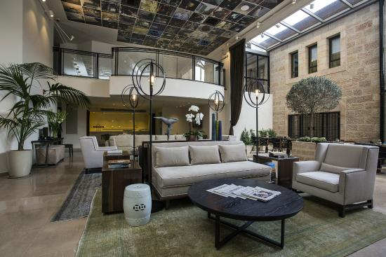 Harmony Hotel Jerusalem - an Atlas Boutique Hotel: new Lobby