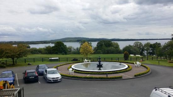 Crover House Hotel & Golf Club: Lough Sheelin from our Superior Room