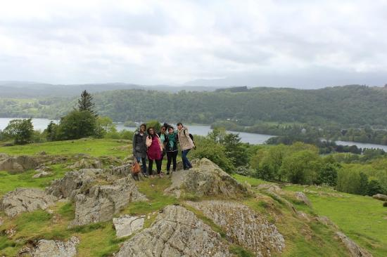 Bowness-on-Windermere, UK: The company!!