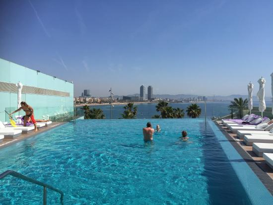 The Fabulous Infinity Pool Picture Of W Barcelona