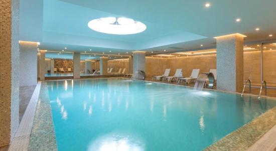 Boyalik Beach Hotel & Spa Cesme: Kapalı alan deni suyu havuz