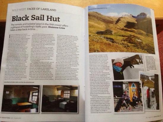 YHA Black Sail: black sail in magazines