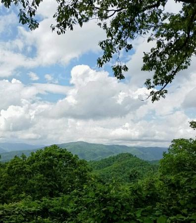 The Chalet Inn Bed & Breakfast: View from the nearby Blue Ridge Parkway