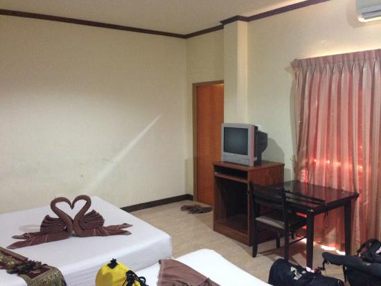 Sabaidee Patong Guesthouse : situasi kamar