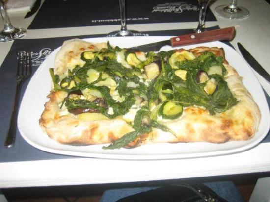 Strabbioni Pizza e Cucina: Vegetarian pizza