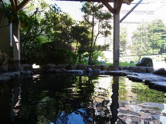 Suitenkaku : 露天風呂