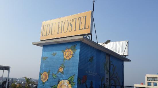 Roof Top Lap Pool - Foto di EDU Hostel Jogja, Yogyakarta ...