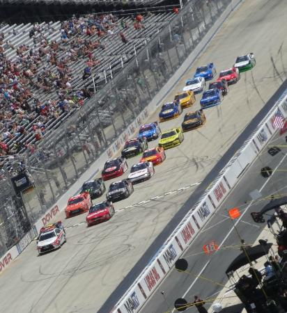 Dover International Speedway: View from the upper grandstands