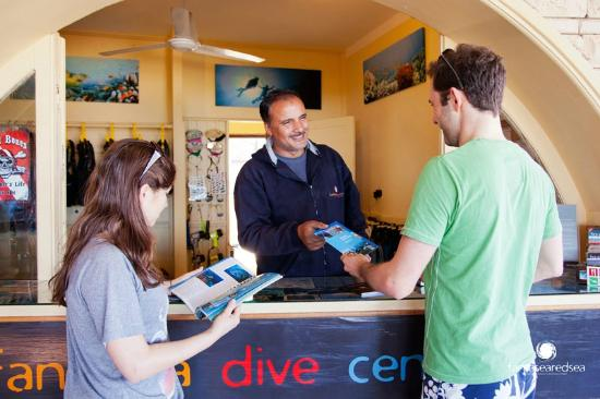Fantasea Dive Center : Fantasea Divers counter 2013