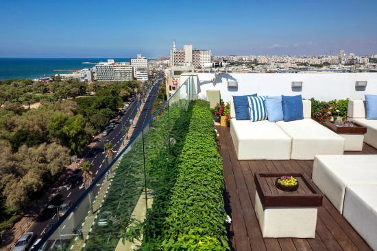 Melody Hotel   Tel Aviv - an Atlas Boutique Hotel: Rooftop Patio