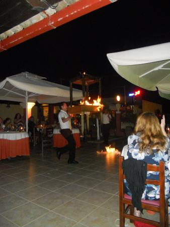 Zorbas: Greek dancing with fire!