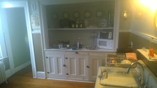 Union Street Guest House : The kitchenette